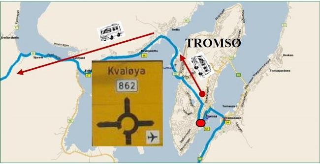 Da Tromsø a Andenes