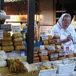 Mercato tipico di alimentari a Zakopane