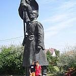 Statua 'Soldato dell'Armata Rossa' di Kisfaludi Strobl Zsigmond al Memento Park di Budapest