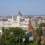 Vista sul Parlamento di Buda