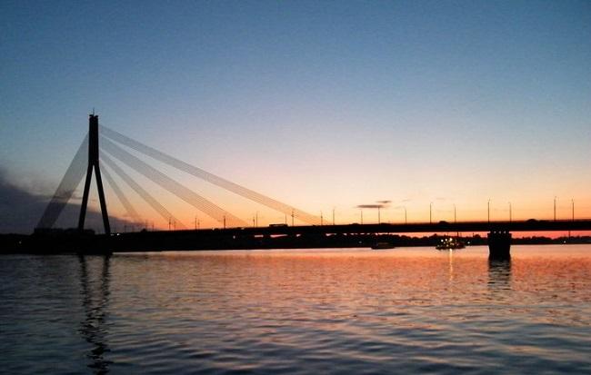 Città di Riga Lettonia