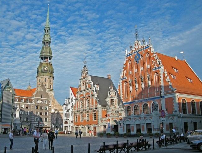 Riga in Lettonia