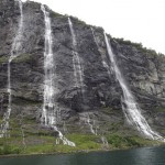 Cascate sul Geirangerfjord