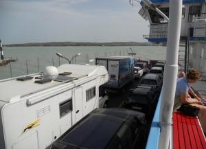 Traghetto sul lago Balaton