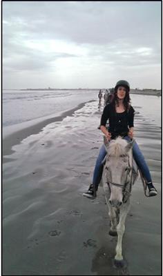 Margherita a cavallo