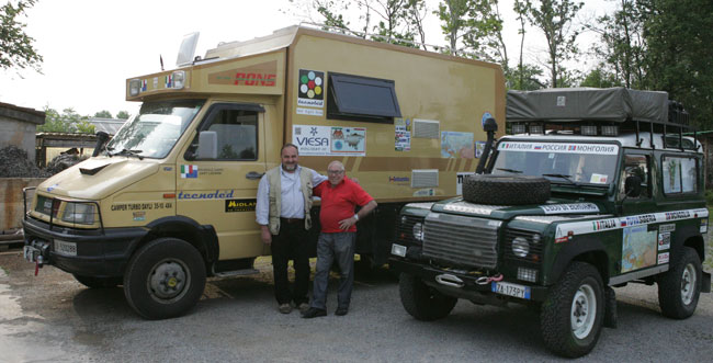 Dario e Gianni - Mongolia 2013