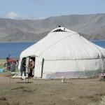 gher nomadi nella steppa
