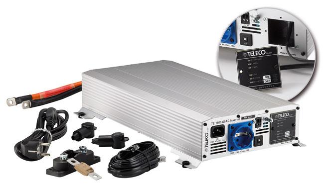 Teleco: Invertersinusoidale TE 1500 SI-AC