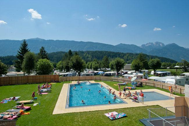 Campeggio Schluga - Austria (piscina)