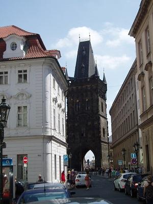 Praga – torre delle polveri