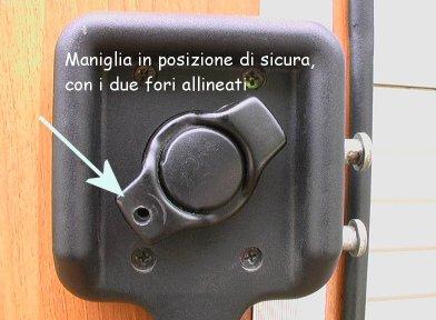 Maniglia blocca porta - 2